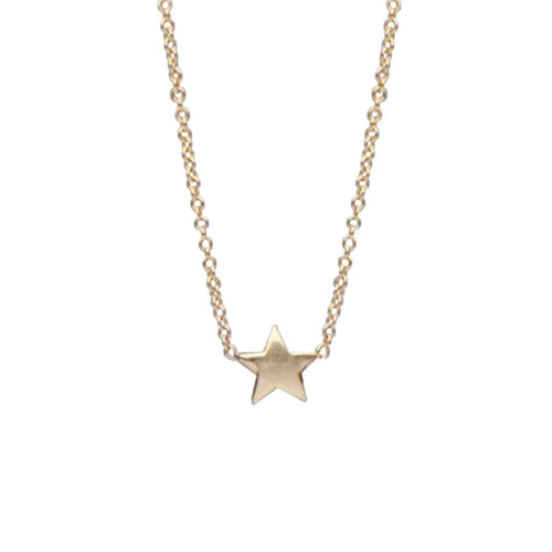 Gold Star Charm Necklace