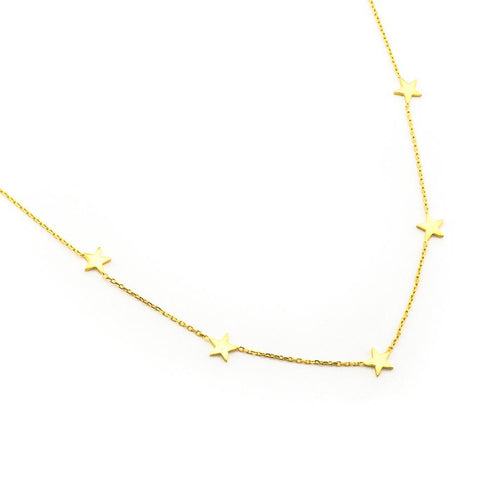 5 Stars Necklace