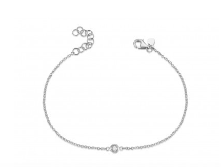 Single Bezel Diamond Bracelet