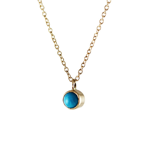Turquoise Cabochon Necklace