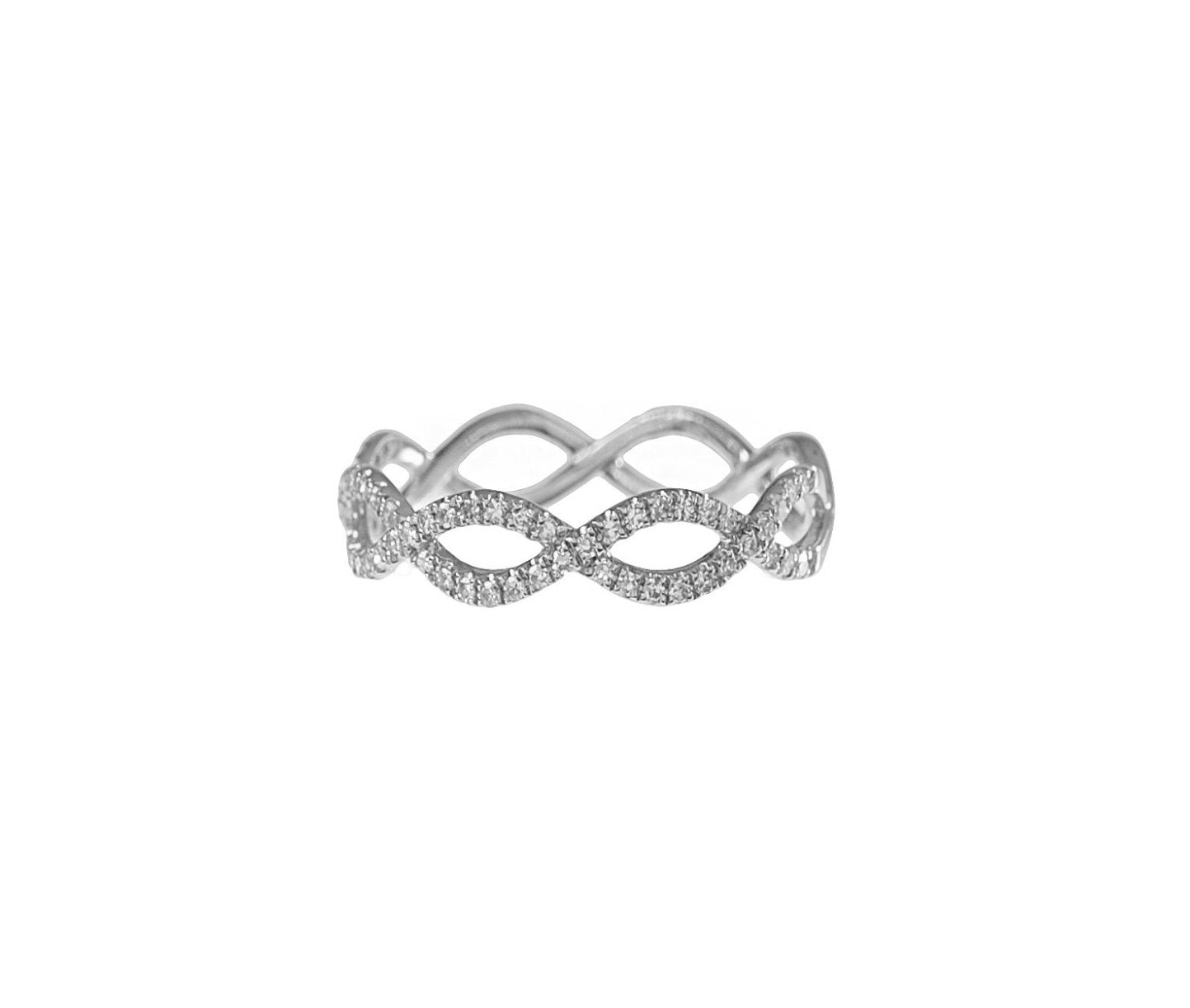Pave Twist Band