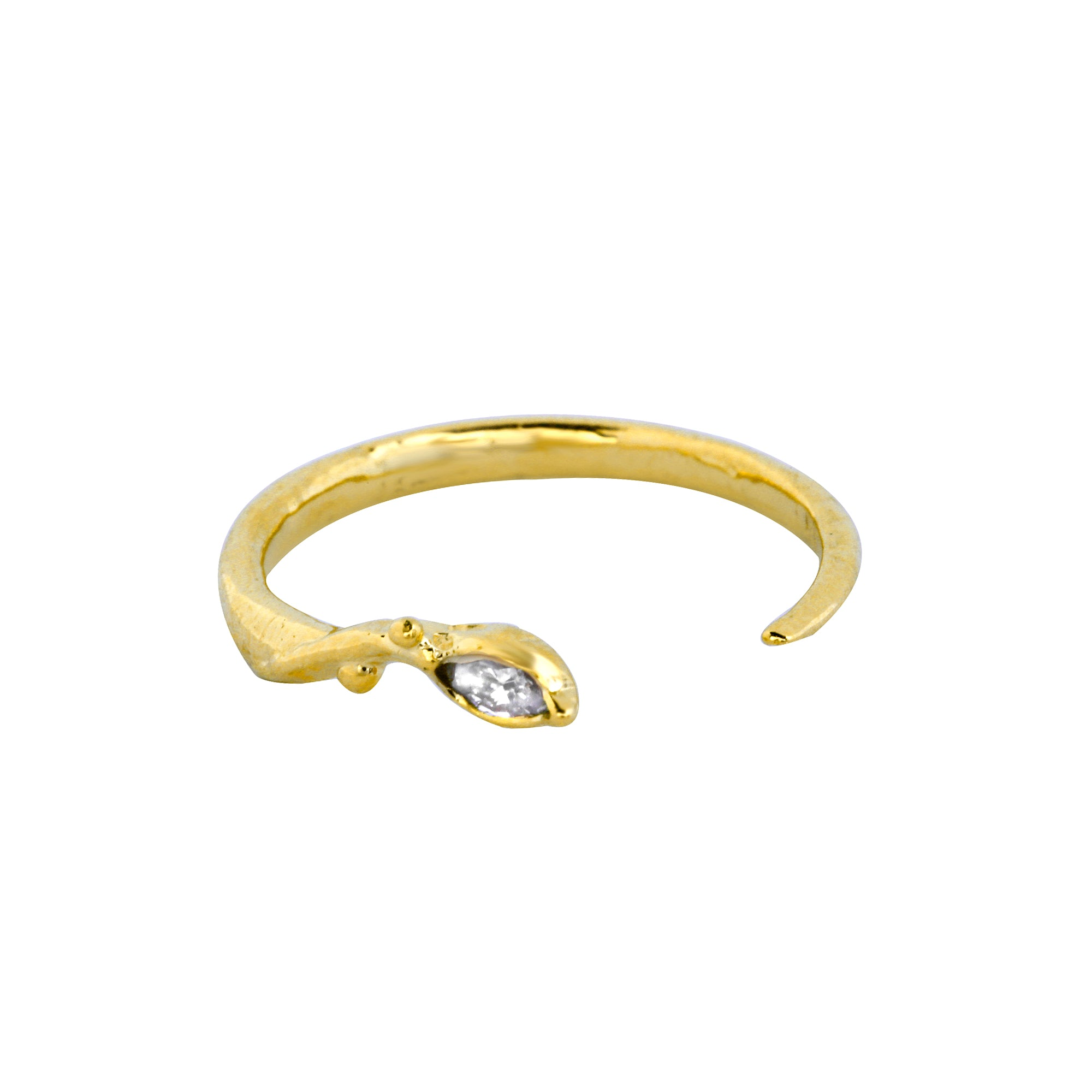 Diamond Marquise Vine Ring