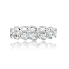 Maya Rose Cut Eternity Band