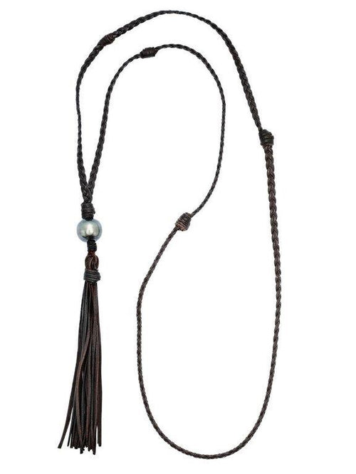 Boho Tassle Drop Necklace