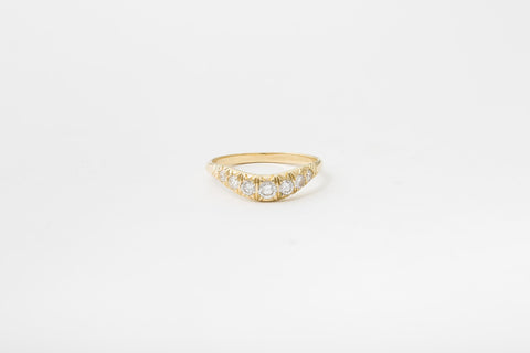 Pave Curve II Ring
