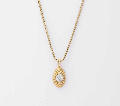 Diamond Seedling Necklace