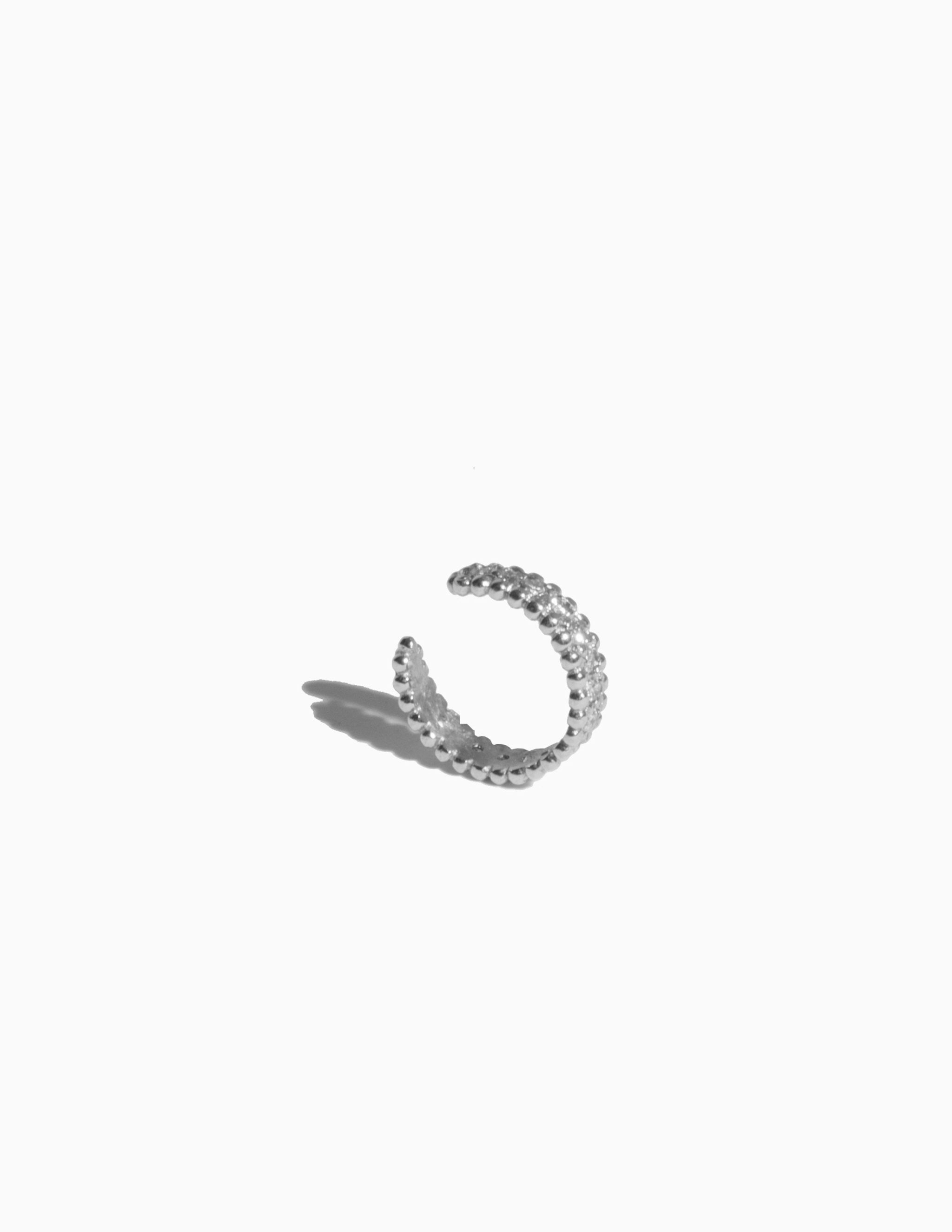 Embedded Diamond Ear Cuff