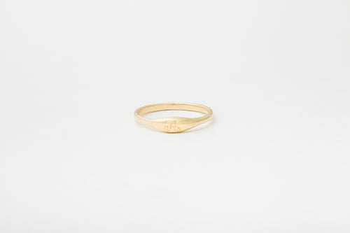 Engraved Ovate III Ring
