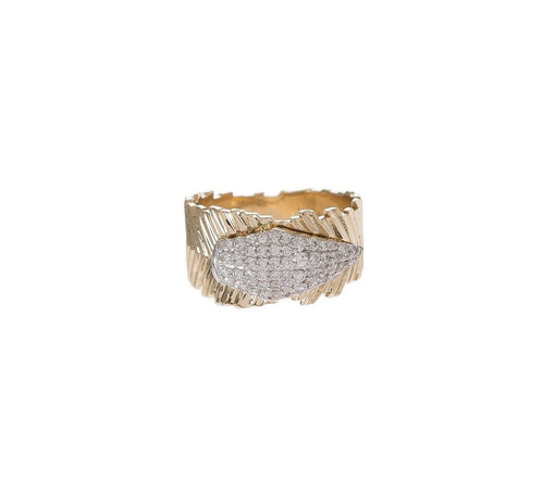 Diamond Quill Ring