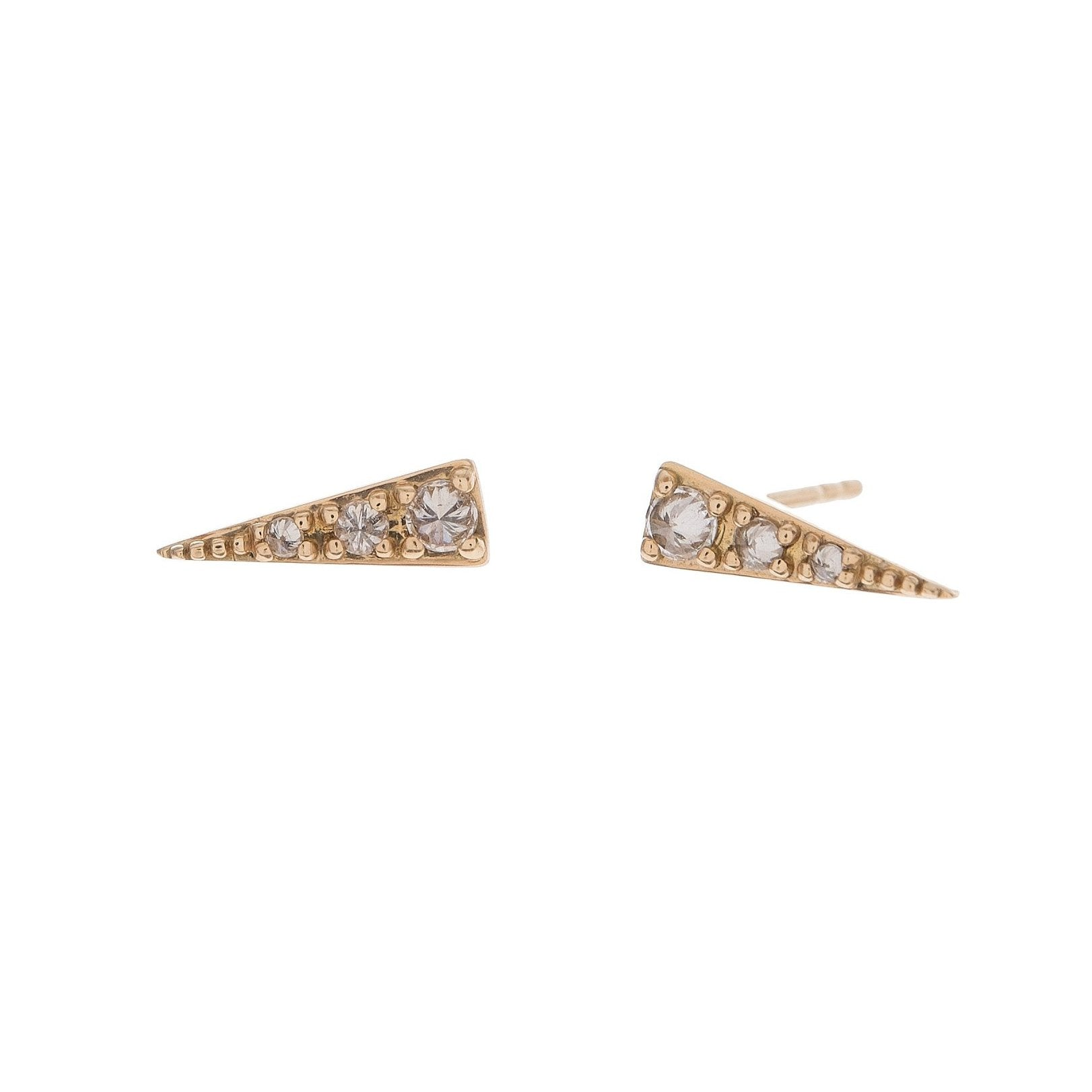 60f63b886 Diamond Spike Studs – Moondance Jewelry