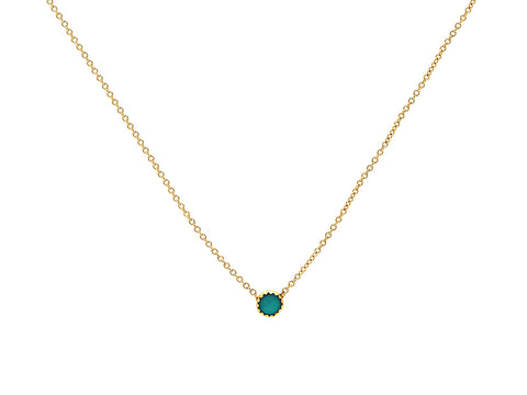 Single Turquoise Necklace