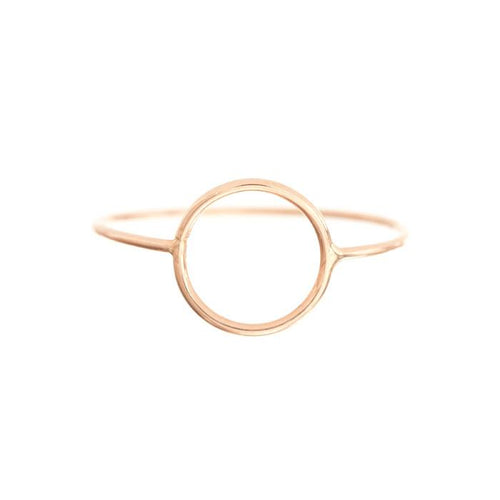 Circle Silhouette Ring