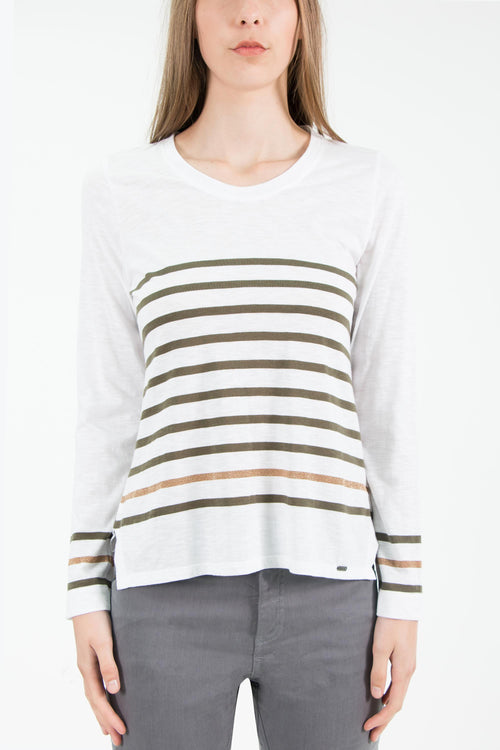 Carly Top- Lichen/Gold