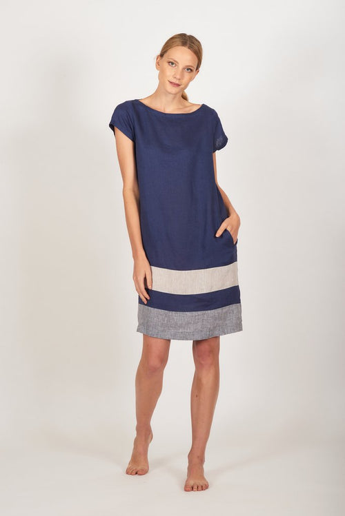Connie Dress- Nautical