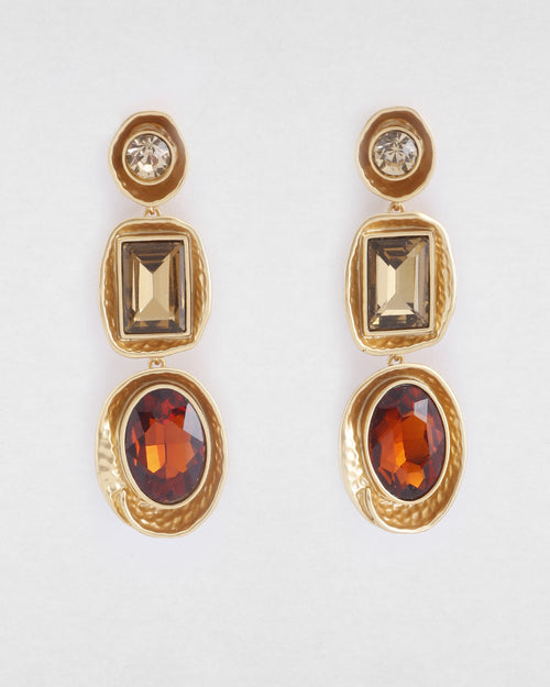 Eve Earrings- Satin Gold