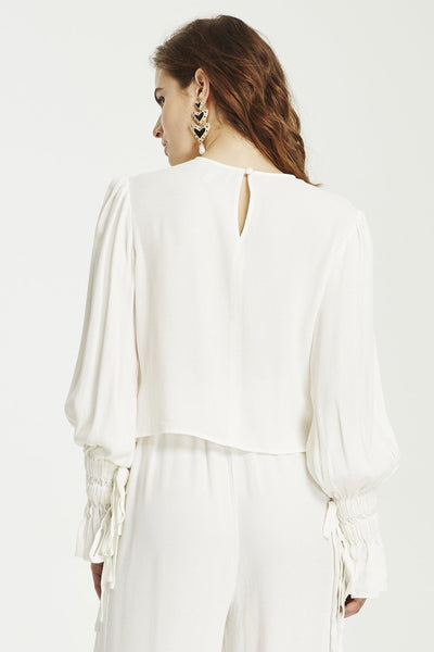 In Bloom Top- White
