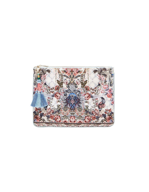 Small Canvas Clutch- Southern Belle