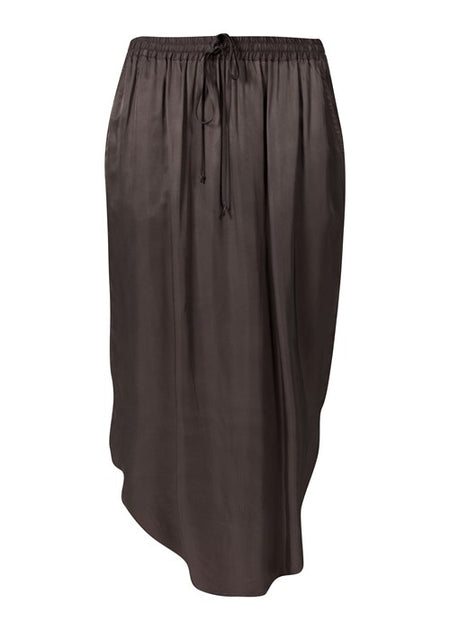 Acrobat Layer Skirt- Charcoal