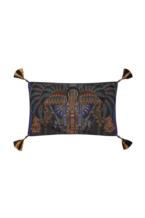 Rectangle Cushion- Scarab Rising