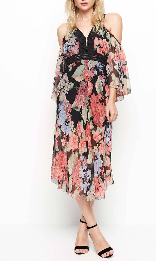 The Dreamer Dress- Evening Floral