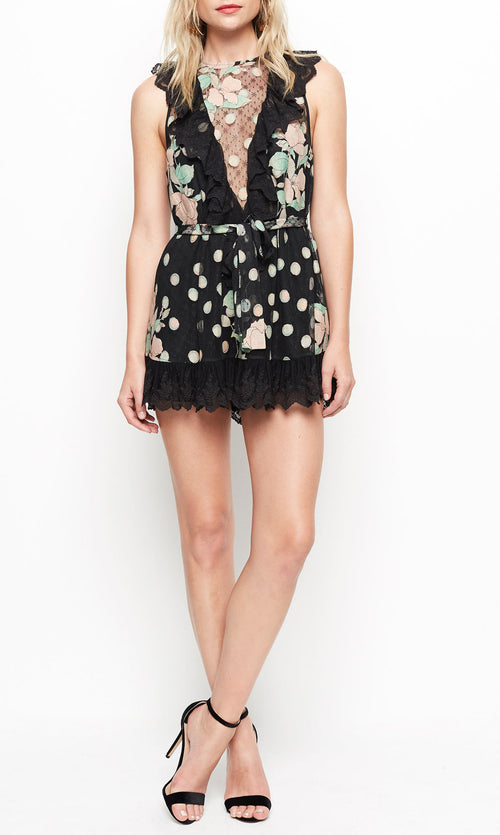 Born This Way Playsuit- Black