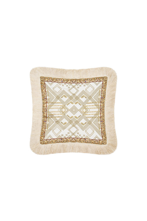 Small Square Cushion- The Queens Chamber