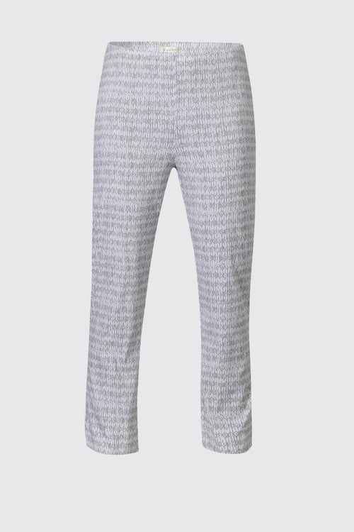 Acrobat Diamond 7/8 Pant- White/ Oyster