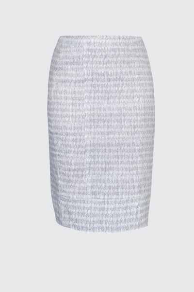 Acrobat Diamond Skirt- White/ Oyster