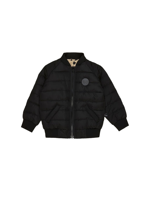 Animal Spot Reversible Bomber