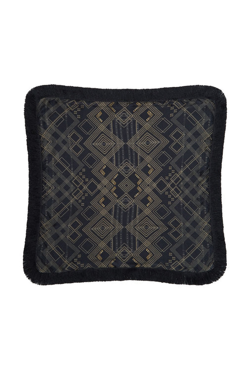 Large Square Cushion- Cobra King