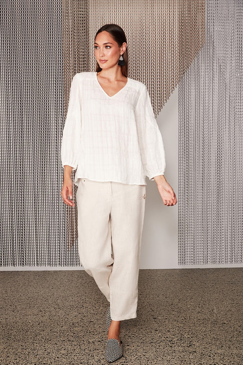Dell Top- White