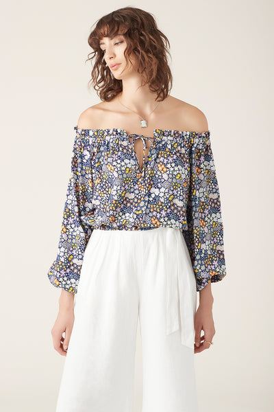 Dalia Cropped Blouse