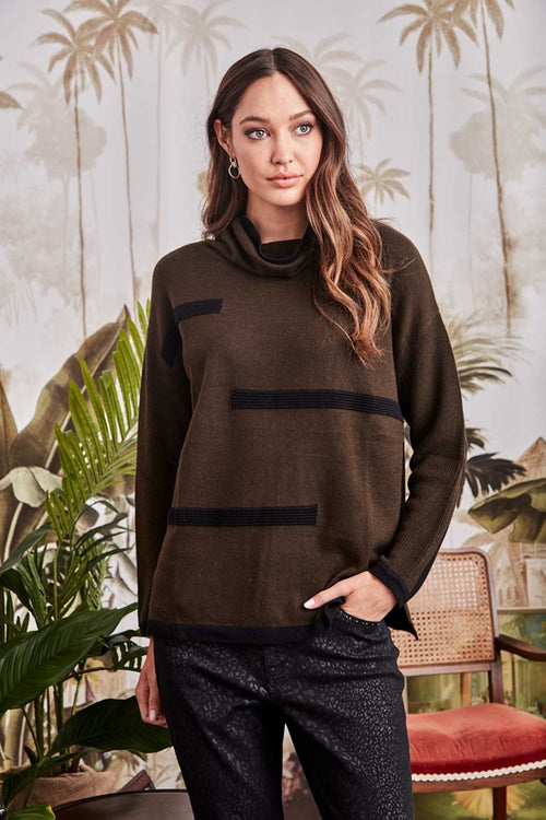 Diversion Sweater- Moss