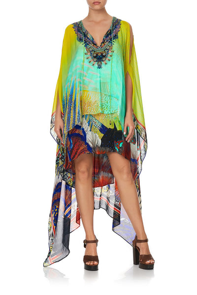 Long Sheer Overlay Dress- Southern Mermaid