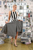 Postie Skirt- Stripe