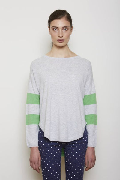Julia Stripe Sweater- Peppermint
