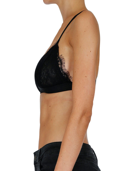 A Private World Bra- Black