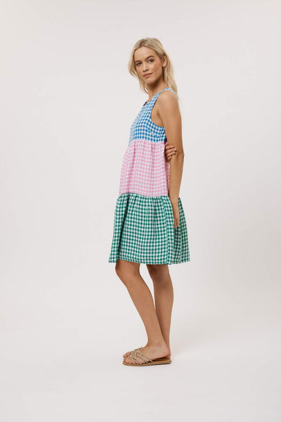 Picnic Splice Dress- Splice