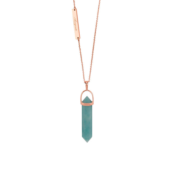 Amazonite Mineral Necklace