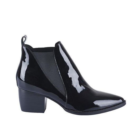 Bruno Boot- Black Patent