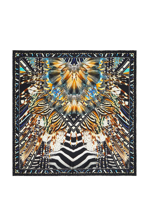 Large Square Scarf- Lost Paradise