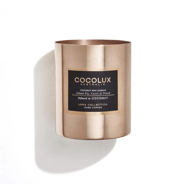 350g Luna Copper Candle- available in 8 scents