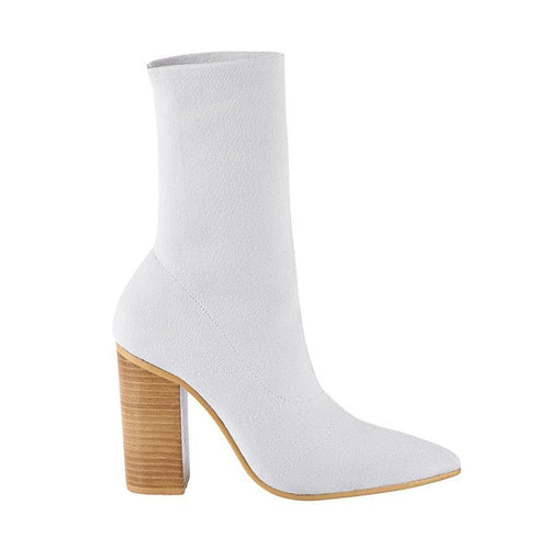 Dannii Boot- Ivory
