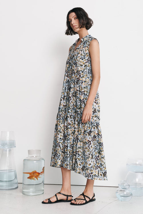 Avaus Dress- Cotton Fleur Print