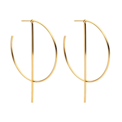 Duke Earrings- Gold