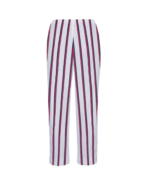 Cropped Pant- Federal Stripe