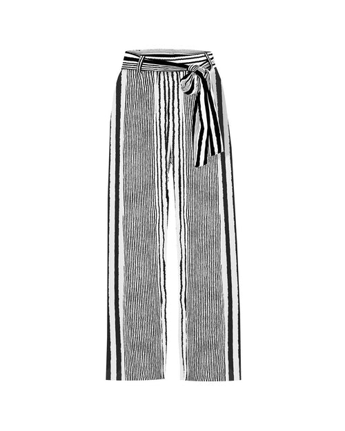 Retreat Pant- Santorini Stripe