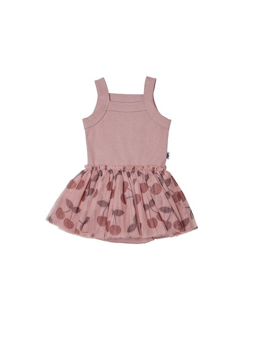 Summer Ballet Onesie- Cherry