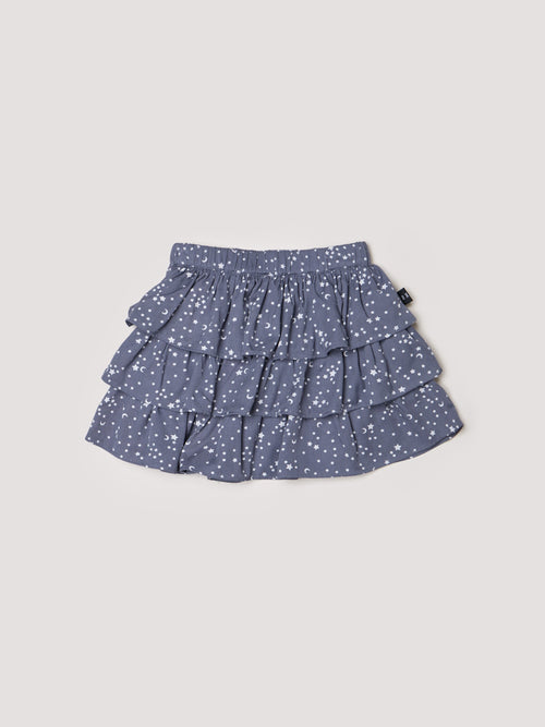 Star Frill Skirt- Deep Blue