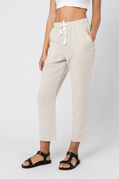 Nude Classic Pant- Natural